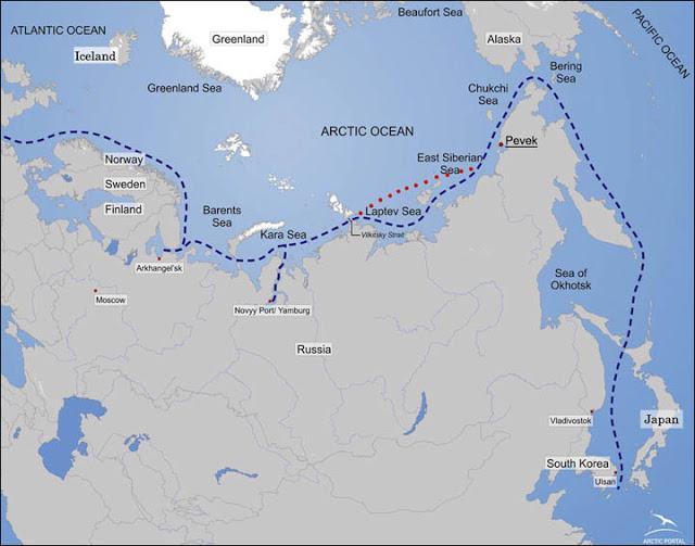 L'Artico, la Russia e la terza via della seta marittima cinese
