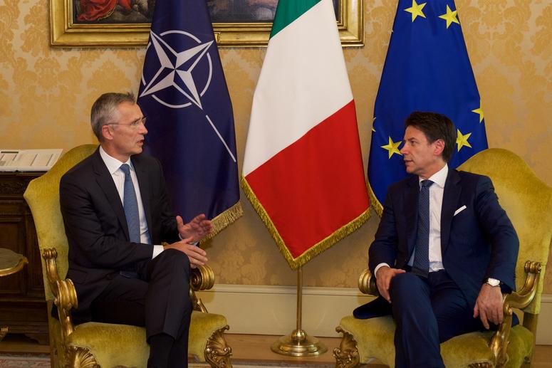 NATO: La visita del Segretario Generale Stoltenberg in Italia