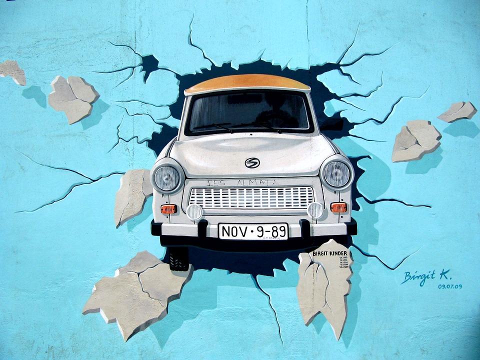 Il muro di Berlino, la fine della Guerra Fredda e l'Europa