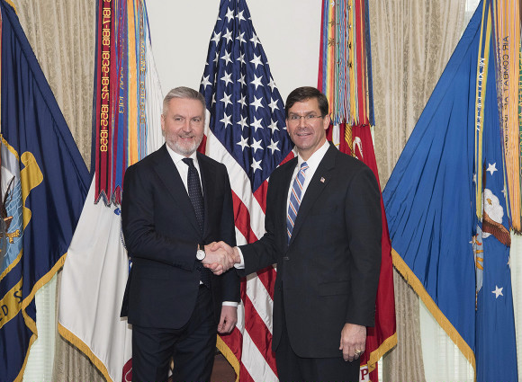 L'importanza della visita negli USA del Ministro Lorenzo Guerini