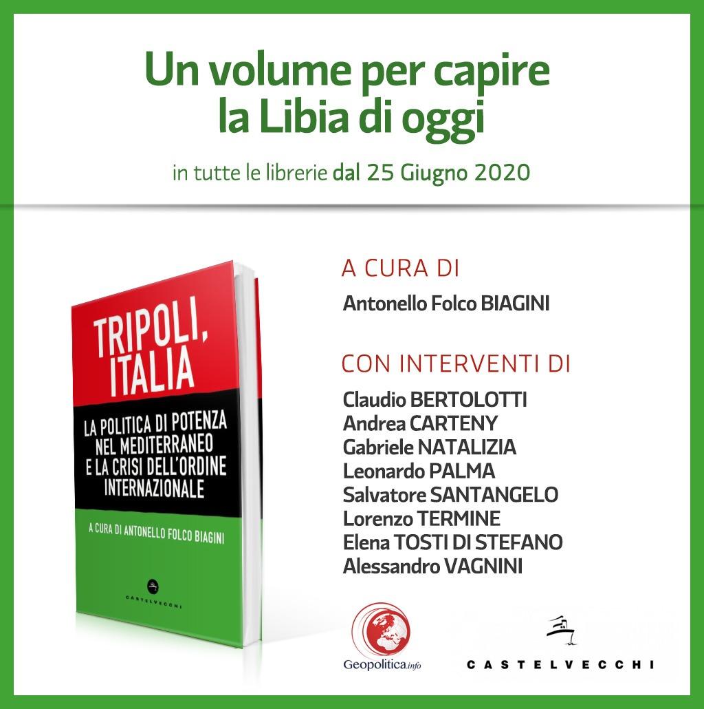Il rebus libico. In uscita il 2 luglio un volume sulla crisi libica