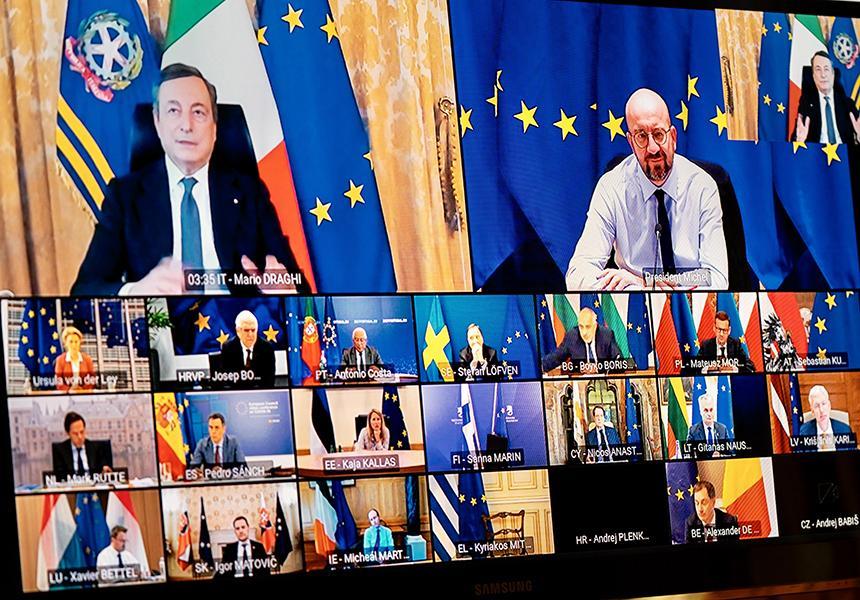 L'impegno dell'Europa contro la pandemia, per la sicurezza comune e il rilancio dei rapporti transatlantici