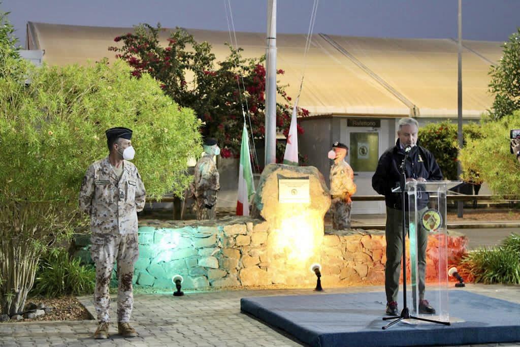 Gibuti, la visita del Ministro Guerini