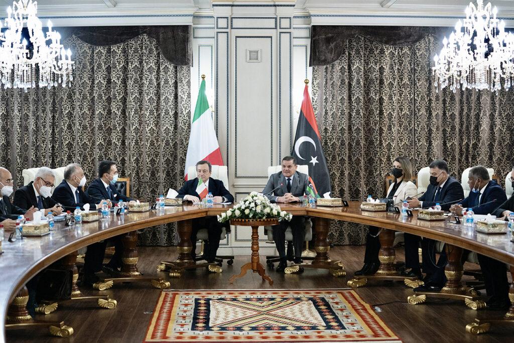 Libia: la visita di Draghi per rafforzare l'Italia nel Mediterraneo