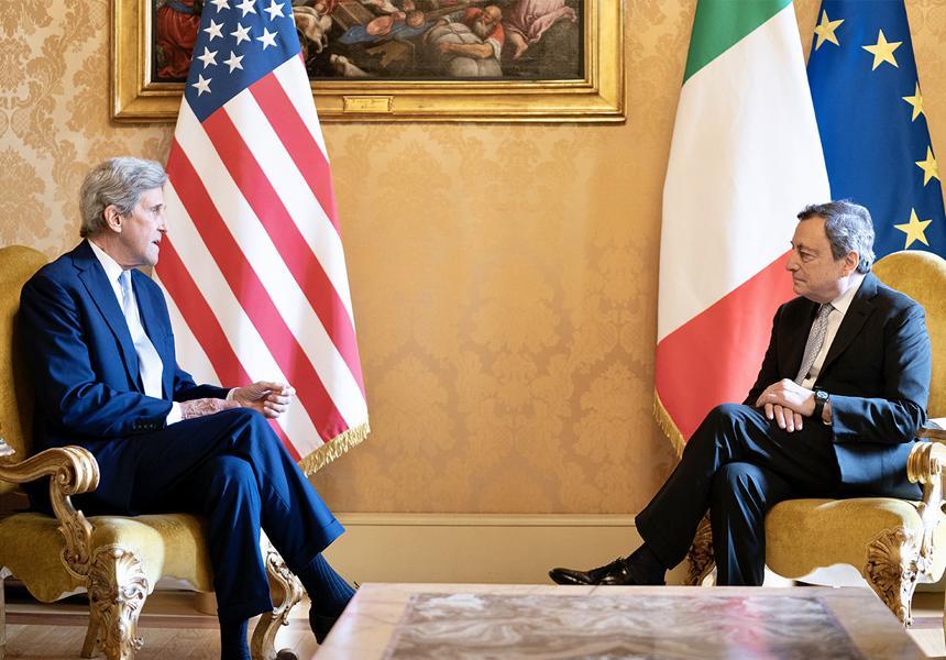Il legame tra Italia e Usa passa anche dalla lotta ai cambiamenti climatici