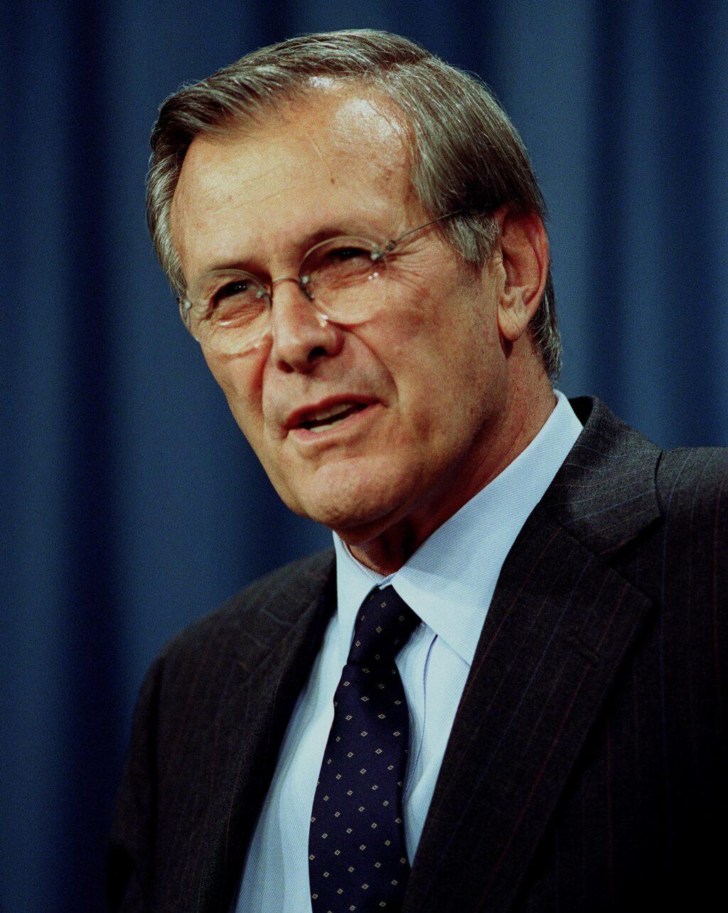 Anatomia di Donald Rumsfeld: ascesa e caduta di un falco della Democrazia